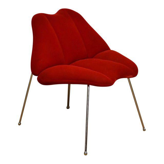 Wonderful Marilyn Monroe Red Lips Chair   Mixed Modern Furniture | Mid Century  Furniture Dealer
