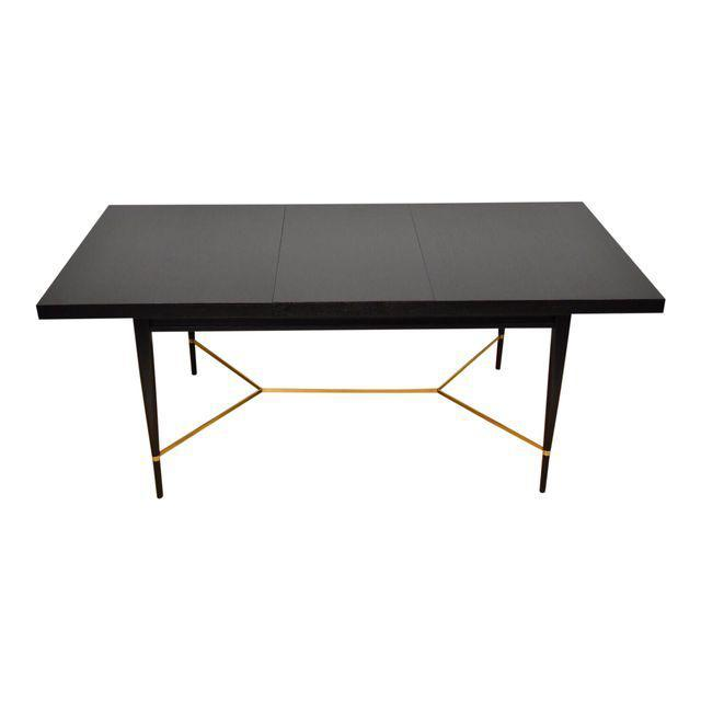 Black And Brass Dining Table By Paul McCobb   Mixed Modern Furniture | Mid  Century Furniture Dealer