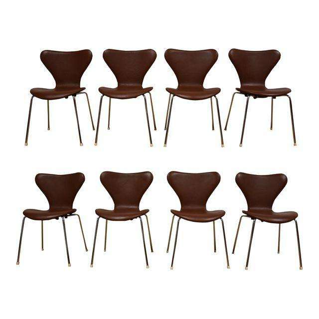 Cool Brown Leather Chrome Dining Chairs Set Of 8 Camellatalisay Diy Chair Ideas Camellatalisaycom