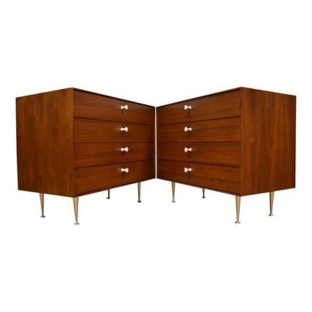 George nelson for herman miller thin edge chests a pair mixed modern furn - Suspension georges nelson ...