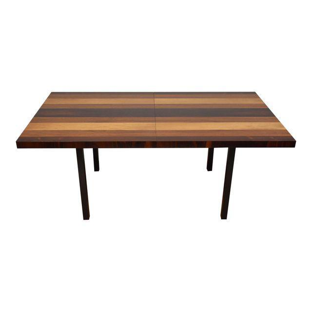 Milo Baughman Directional Dining Table U0026 Leaves   Mixed Modern Furniture |  Mid Century Furniture Dealer