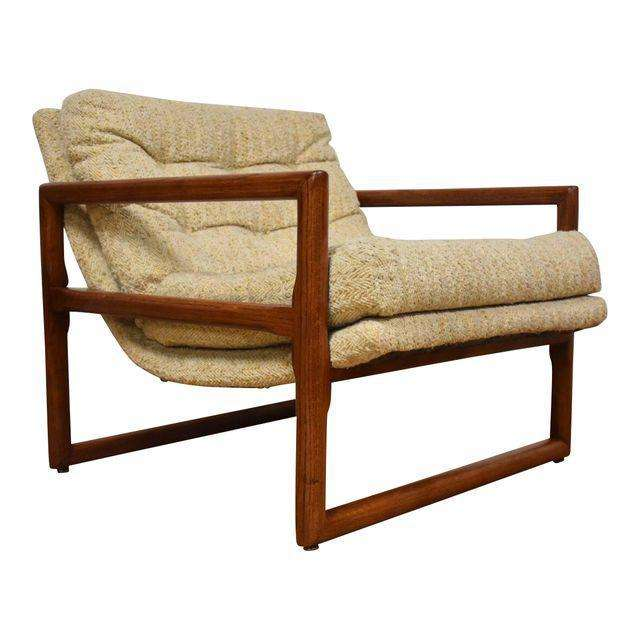 Milo Baughman Thayer Coggin Scoop Lounge Chair   Mixed Modern Furniture |  Mid Century Furniture Dealer