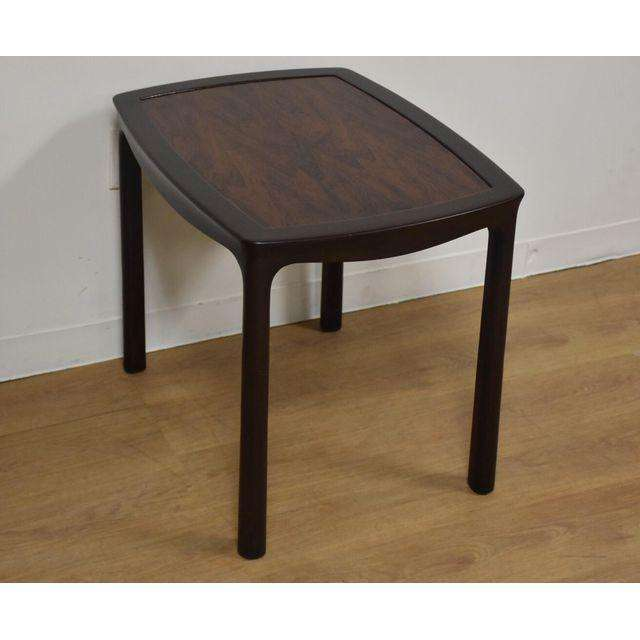 Edward Wormley For Dunbar Rosewood End Table   Mixed Modern Furniture   Mid  Century Furniture Dealer