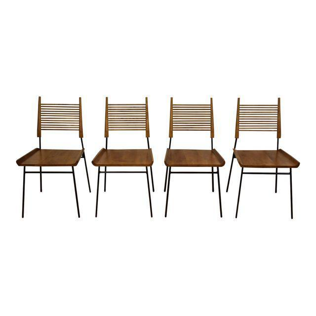 Shovel Dining Chairs By Paul McCobb   Set Of 4   Mixed Modern Furniture |  Mid Century Furniture Dealer