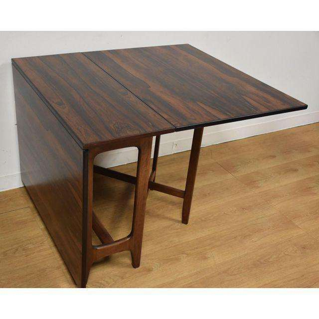 Bendt Winge For Kleppes Rosewood Dining Table