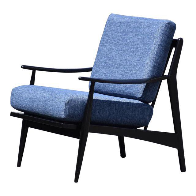 Black Lacquered MCM Lounge Chair   Mixed Modern Furniture | Mid Century  Furniture Dealer