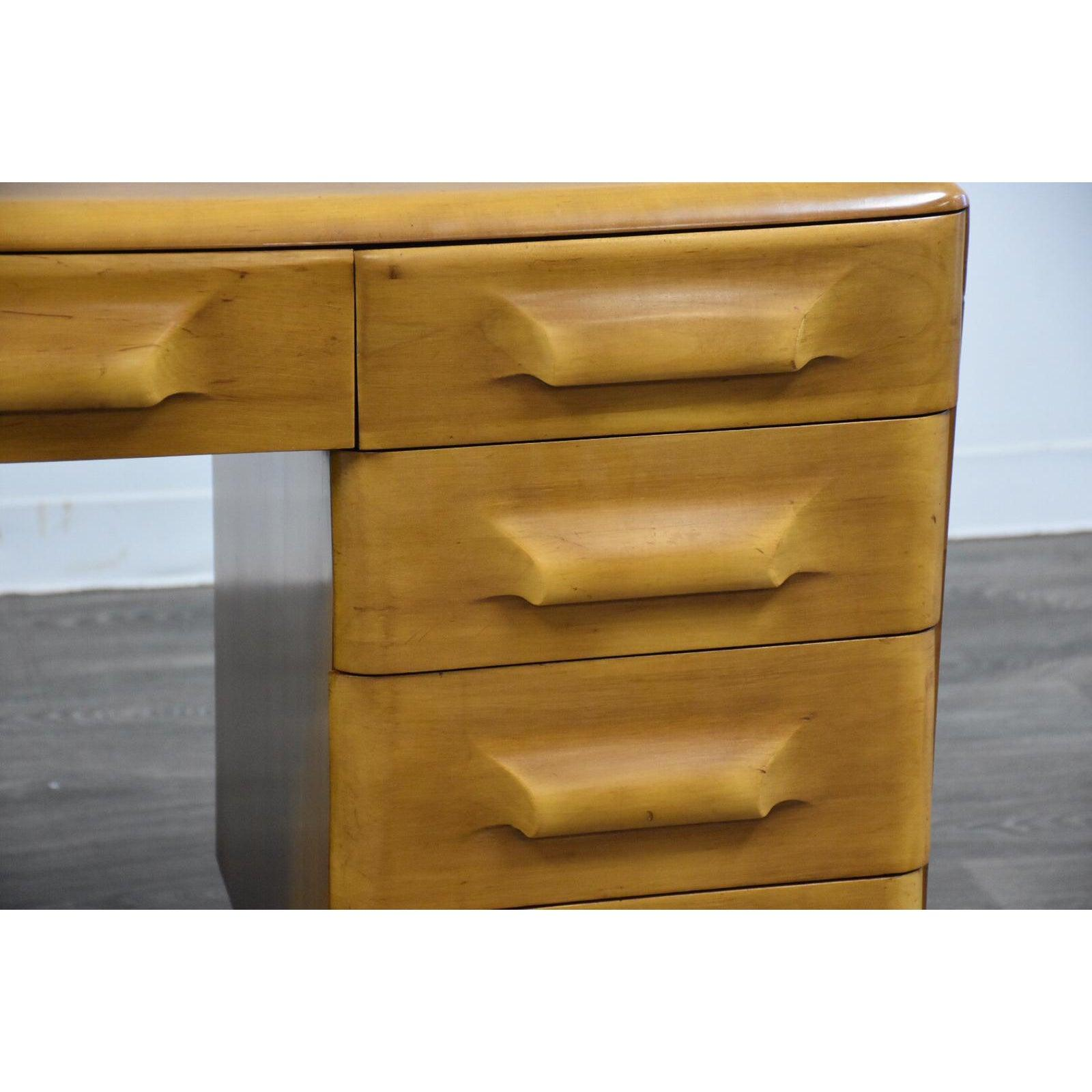 Franklin Shockey Solid Maple Desk - Mixed Modern Furniture ...