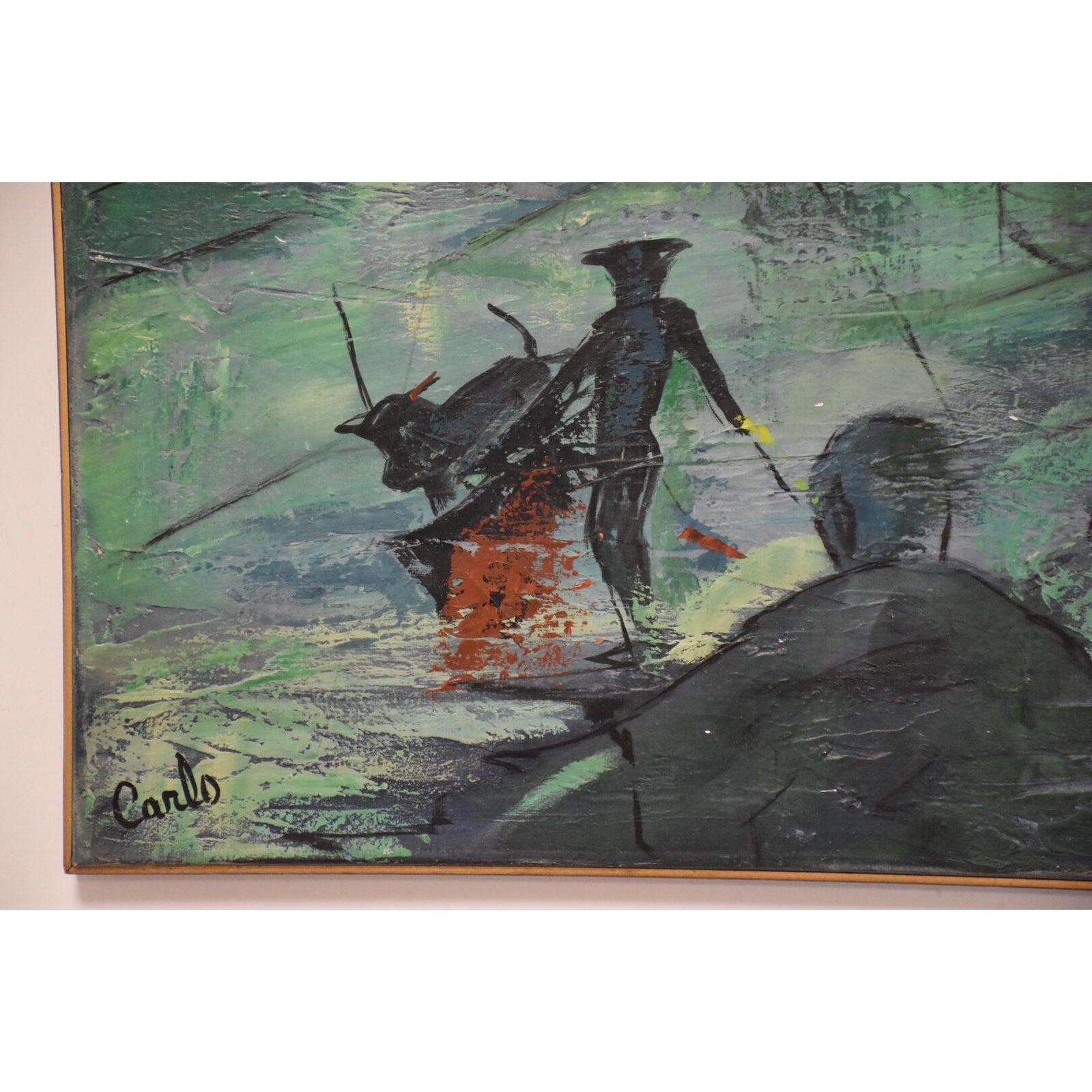 Oil On Canvas Cant Identify Artist | Artifact Collectors