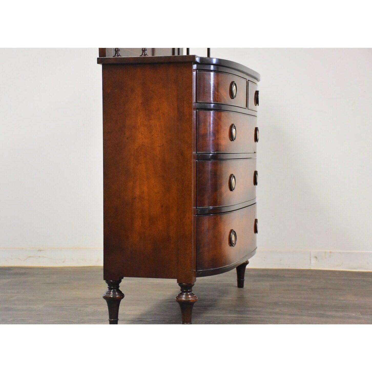 Picture of: Nahon Mahogany Dresser Chest Mixed Modern Furniture Mid Century Furniture Dealer
